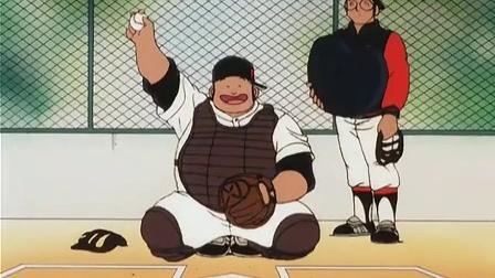 棒球英豪 初次练习,活跃的和也与可怜的达也
