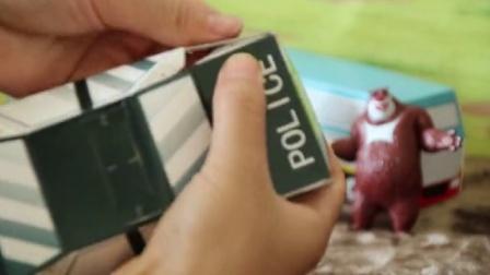 熊出没玩具系列小视频 2016 手工折纸DIY 光头强警车大作战 光头强警车大作战