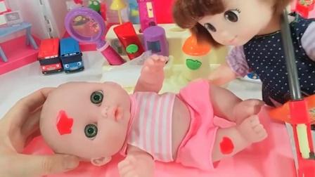 韩国超可爱超人气宝宝吃玩上厕所 豪华抽水马桶 炫酷厕所
