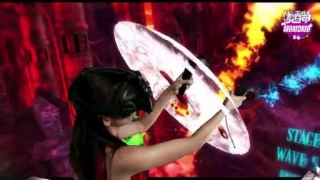 女神保卫柱状神器与魔鬼疯狂斗法 05