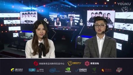 2016NESO全国电子竞技公开赛 英雄联盟 8进4 DGC.湖南 vs HDY.广西