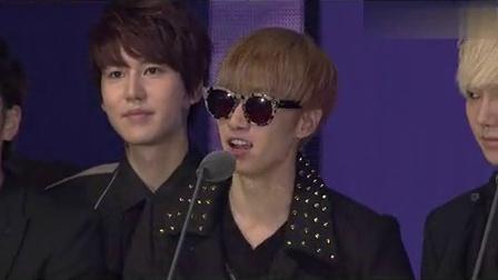 2012MNET亚洲音乐盛典最佳线上音乐superjunior