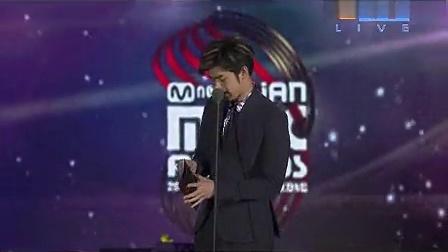 2012MNET亚洲音乐盛典最佳男歌手G-Dragon