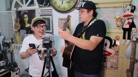 吉他弹唱 爱的代价(许鹤缤和郝浩涵)