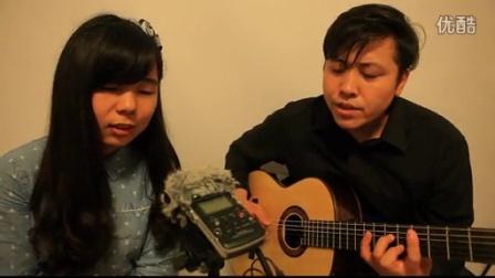 吉他弹唱 亲密爱人(郝浩涵和沈伟萌)