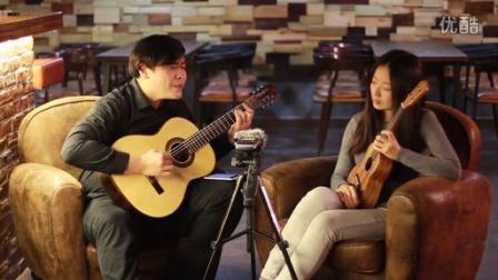 吉他弹唱 青花瓷(郝浩涵和王梦娇)