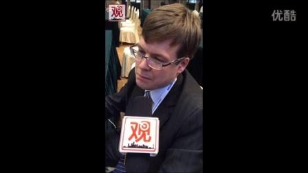 世界互联网大会观察者网采访塔斯社记者