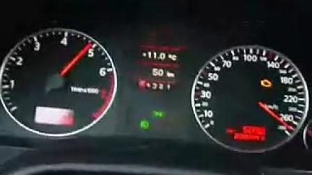 奥迪A8 6.0L W12德国高速极速试驾