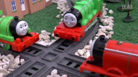 托马斯和他的朋友们:神秘消失的火车 真相是什么? Thomas小火车 高登 培西 亨利