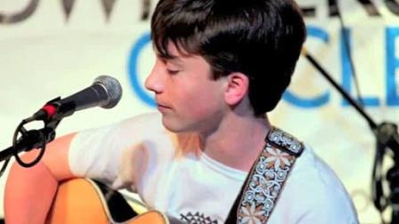 十六岁男生Clay Garner吉他弹唱新歌 Be The One