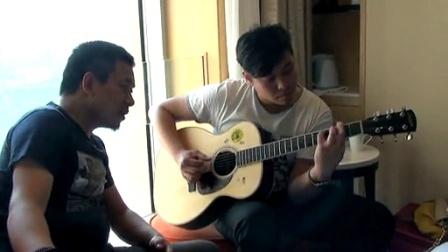 吉他弹唱 王菲《红豆》(郝浩涵和李建辉)朱家明编曲