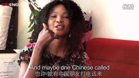 """世界小姐玛丽亚---""""中国,我生命中的缘分"""""""