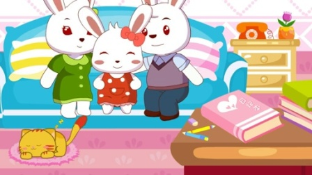 兔小贝儿歌  两本日记  (含歌词)