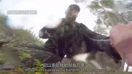 0815 猎人拯救被困在冰水中的狗狗