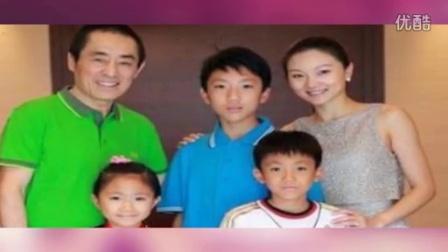 张艺谋妻子晒全家福跨年:告别心塞2014 150101