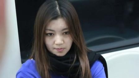 北京地铁遇见最美女孩