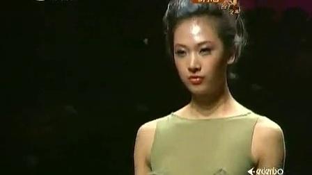 风尚东北亚 2011 中国时装设计师创意大奖 李小燕作品发布 110831 李小燕繁复花边超精致