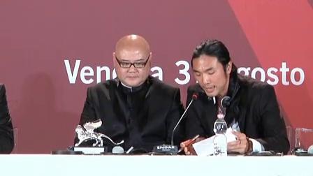 蔡尚君凭借《人山人海》获得第68届威尼斯最佳导演银狮奖