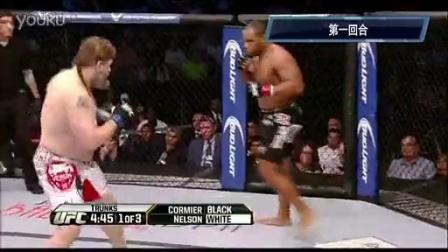 UFC166重量级:科米尔苦战3局点数险胜尼尔森