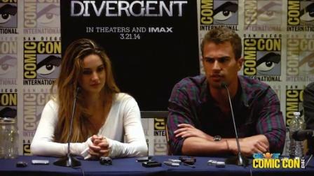 2013圣地亚哥动漫展《分歧者:异类觉醒》Divergent见面会
