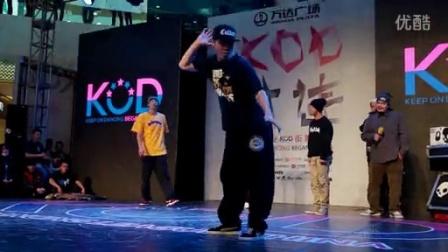 李哲 阿牙 黄景行 Tommy裁判表演- KOD中国职业联赛大连赛区