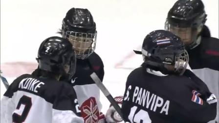 女子冰球 泰国0:37日本