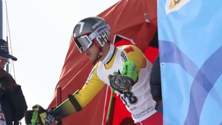 高山滑雪 超级大回转