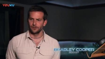《银河护卫队》人物介绍花絮之火箭浣熊  布拉德利·库珀爱乱发脾