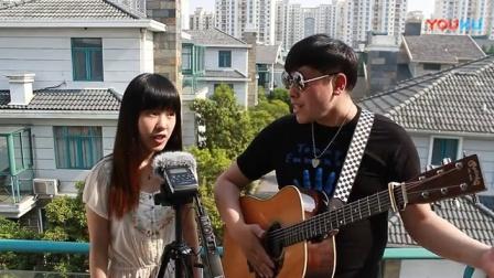 吉他弹唱 坐在巷口的那对男女(郝浩涵和宋悦龄)