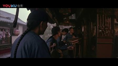 《黄飞鸿》耻辱的租界区,满大街洋溢着国外传教士的声音