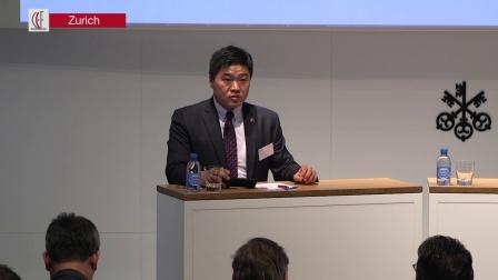 中国瑞士中心首席执行官肖振先生发表主题演讲