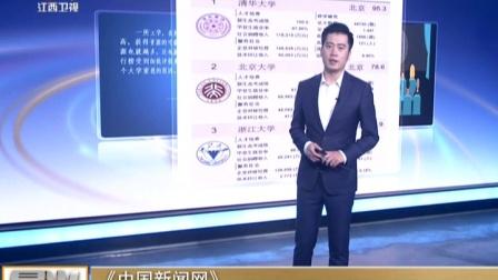 《中国新闻网》:2018中国最好大学排名发布  晨光新视界 180228