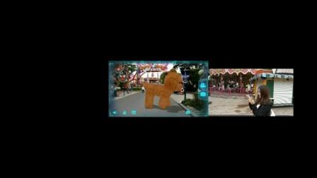 AR导览视频-室外3