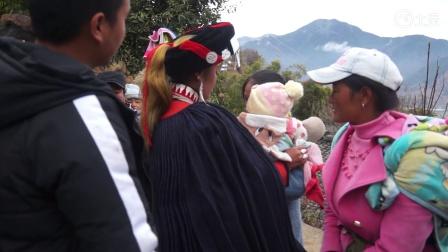 彝族结婚彝族婚礼新娘出嫁当天全村人都落泪拥抱看哭了