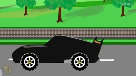 托马斯小火车玩具视频 汽车总动员与小火车在多多岛之旅