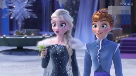 迪士尼动画《冰雪奇缘》番外短片《雪宝的冰雪大冒险》预告片公开