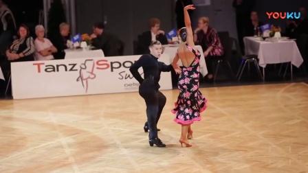桑巴 Konstantin Gorodilov-Dominika Bergmannova,EST_AOC 2017-WDSF WO LAT-solo Samba
