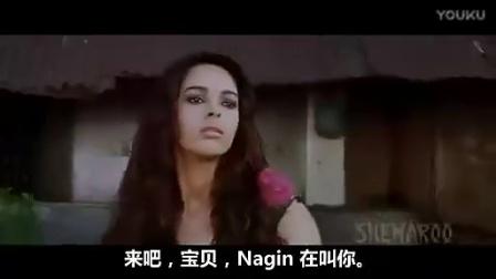 印度电影之美女蛇初到人间跳舞遭非礼,于是大怒变蛇身吃了他们!
