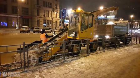机械美学:只有在俄罗斯才能看到的扫雪车
