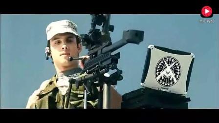 特种部队的狙击手架着重狙, 确实厉害, 坐在这里瞄准一枪一个
