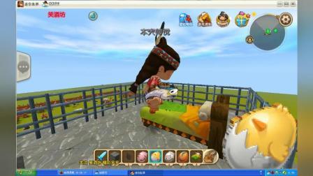 迷你世界 建造大型八卦阵 迷宫 恐龙园 企鹅 北极熊41