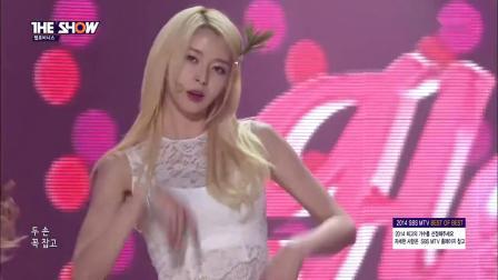 韩国组合MV 点击率最高的MV 这身材美了