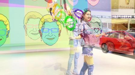 廣州車展 2017 上海名爵汽車 车展美模
