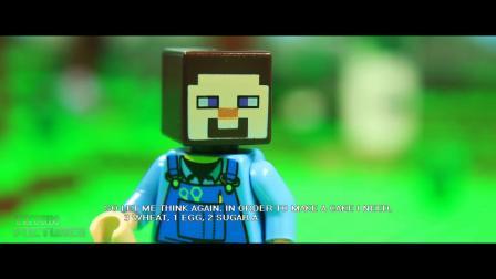 乐高我的世界之生存模式-Lego乐高城市小电影-儿童故事剧场★傲仔小天地★
