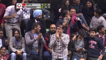 2018印度赛半决赛最佳球 石宇奇遭遇最顽强对手
