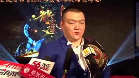 中国泰森张君龙欲大战五国重量级拳王,剑指世界金腰带