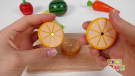 水果玩具: 儿童过家家切水果