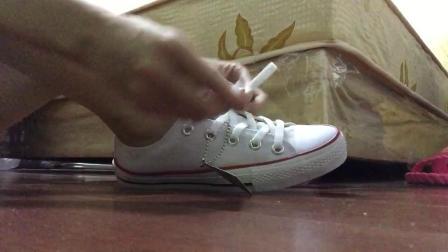 妹妹穿的白棉袜与帆布鞋 - 1.六分钟白棉袜配帆布(Av18750578,P1)