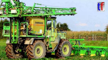 农业机械工作