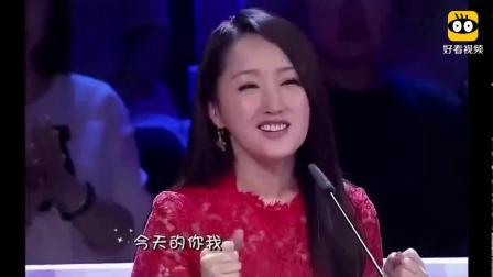 毛宁二十年后再唱《涛声依旧》台下杨钰莹都入迷了, 经典名不虚传